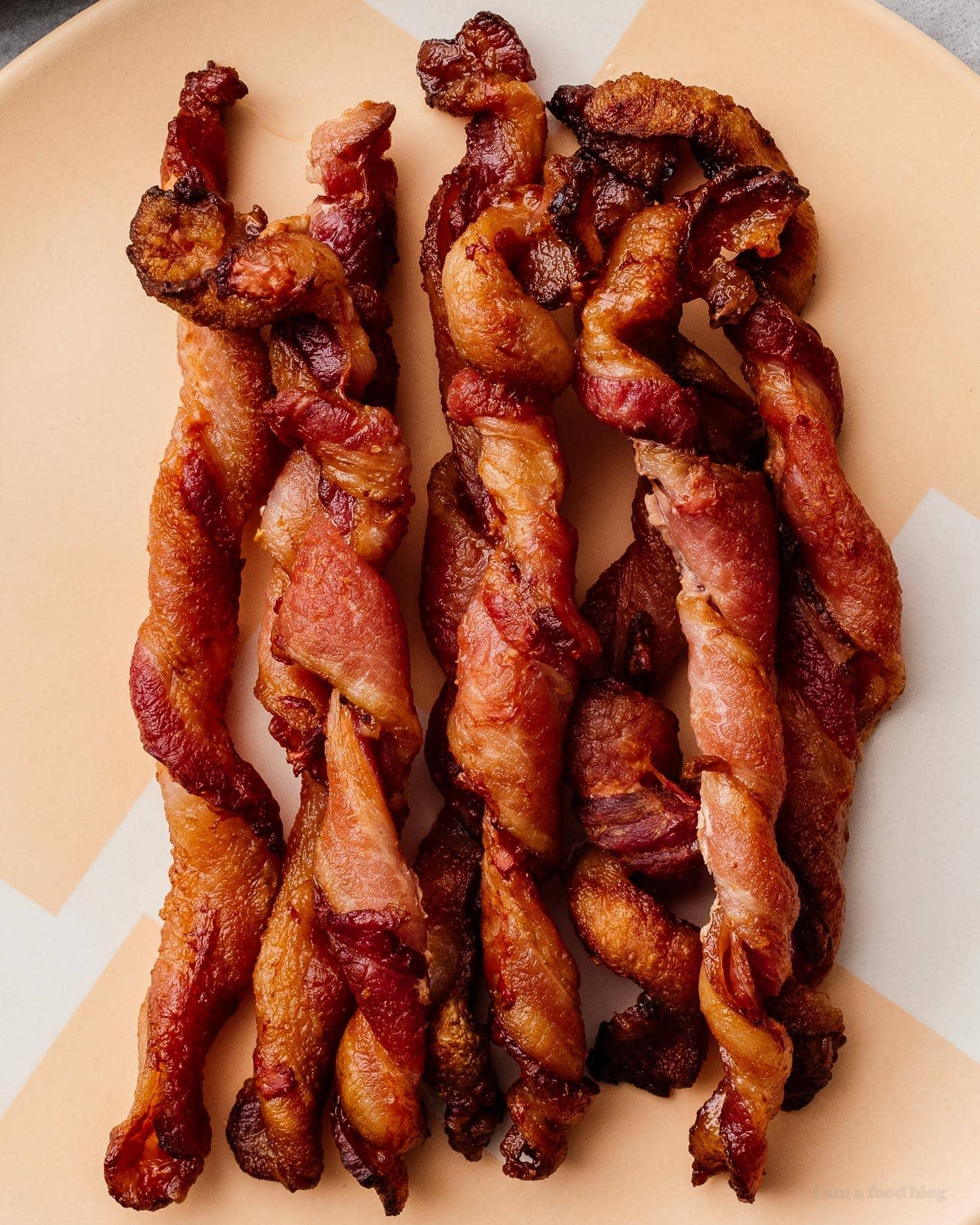 twisted bacon |  www.iamafoodblog.com