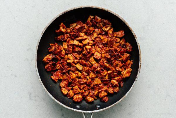 Fried pork al pastor | www.iamafoodblog.com
