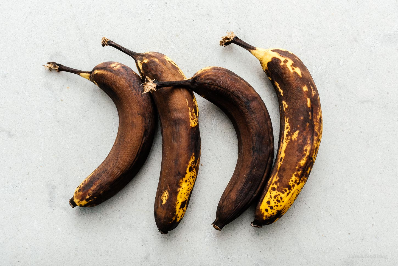 extra ripe bananas | www.iamafoodblog.com