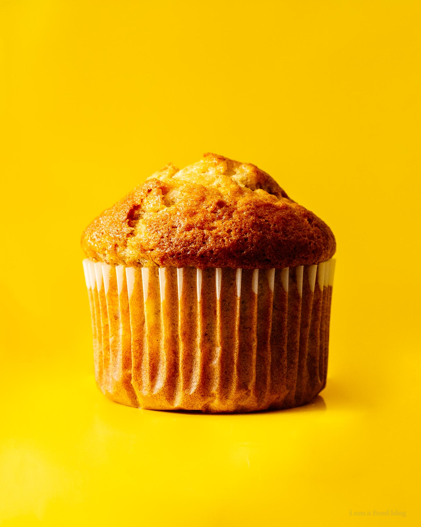 banana muffins | www.iamafoodblog.com