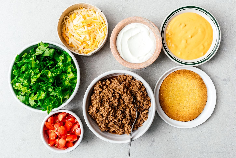 crunchwrap ingredients | www.iamafoodblog.com