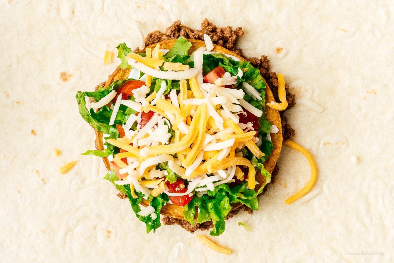 crunchwrap | www.iamafoodblog.com