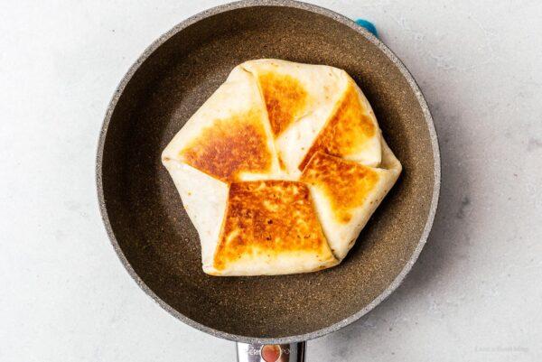 fried crunchwrap | www.iamafoodblog.com