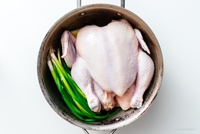 hainanese chicken   www.iamafoodblog.com