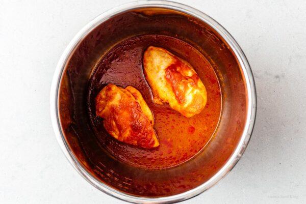 Instant pot chicken breast   www.iamafoodblog.com