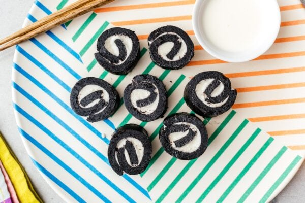 Oreo sushi | www.iamafoodblog.com