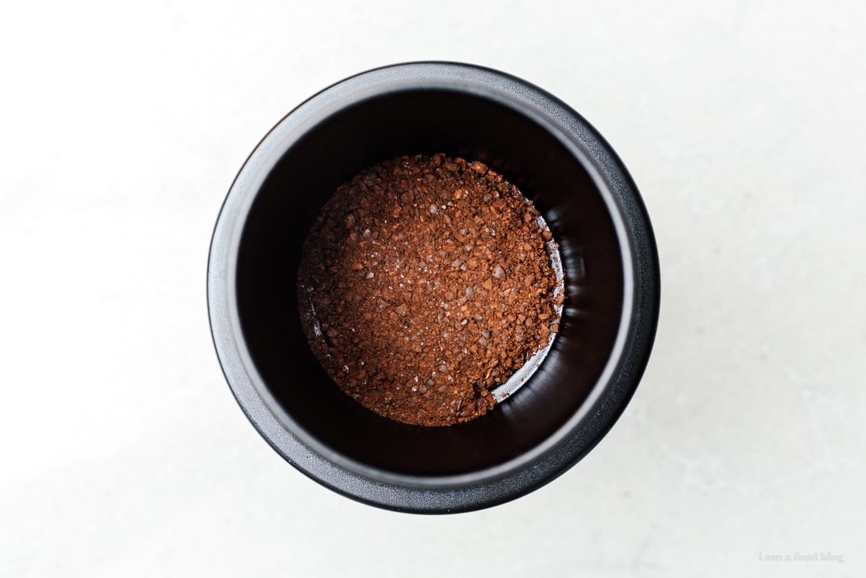 Vietnamese coffee grounds | www.iamafoodblog.com