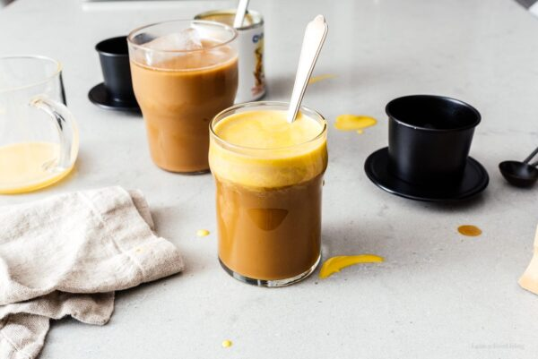 Vietnamese egg coffee | www.iamafoodblog.com