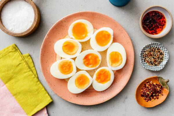 air fryer eggs | www.iamafoodblog.com