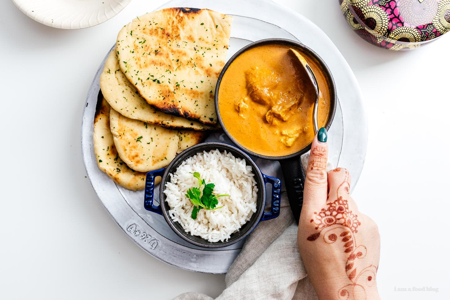 instant pot butter chicken | www.iamafoodblog.com