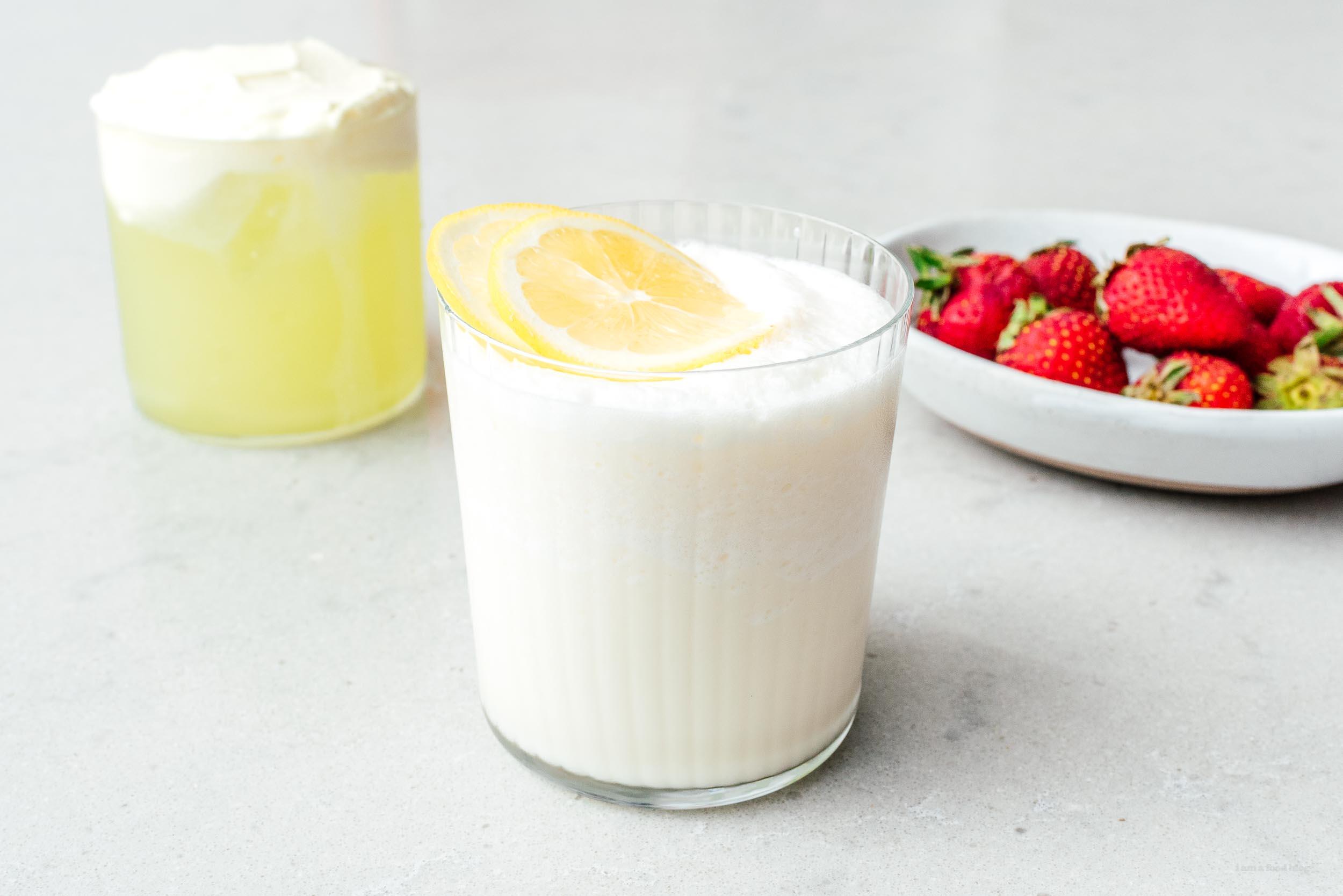 Whipped Lemonade