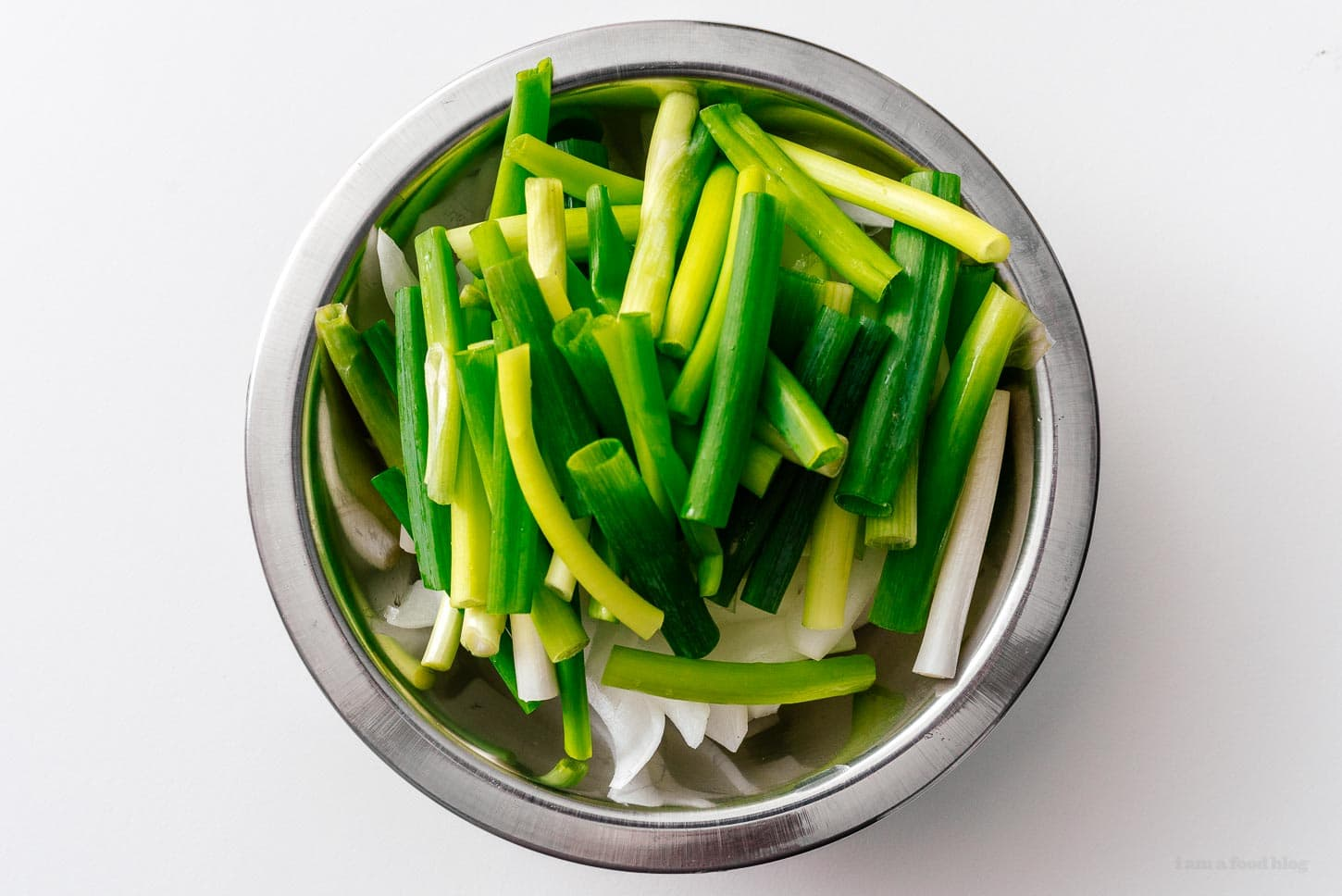 vegetables for chow mein | www.iamafoodblog.com