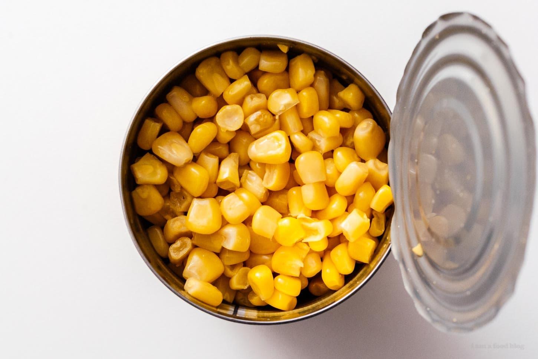 canned corn | www.iamafoodblog.com