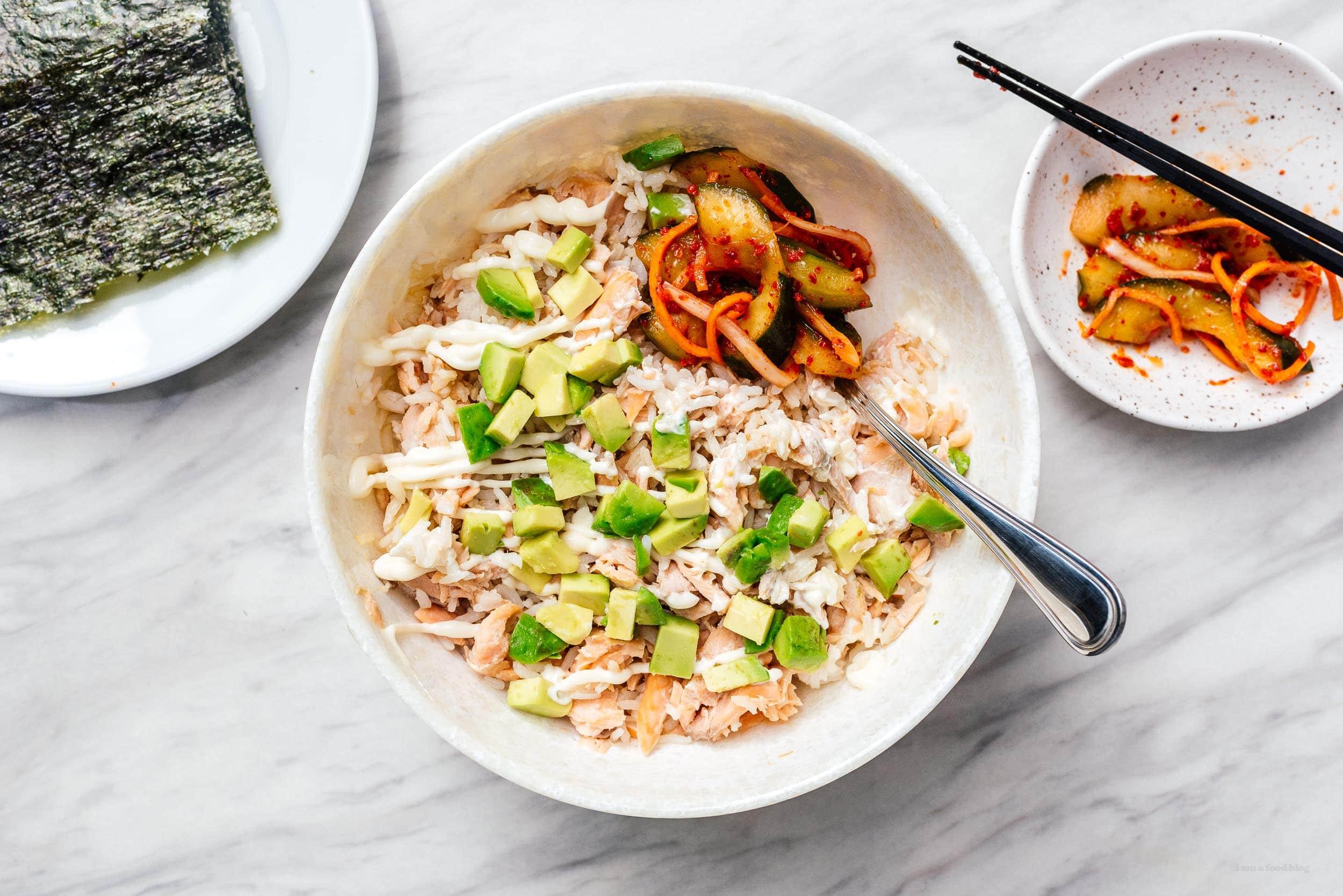 tiktok salmon recipe | www.iamafoodblog.com